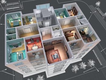 Immeubles résidentiels collectifs orchesta